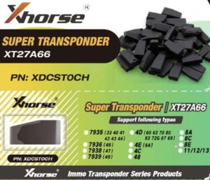XT27 Super Transponder
